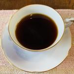 カレー家 たく - セットのコーヒー