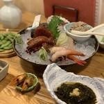 酒菜と炭 てりや - 料理写真:豪華なテーブルに!