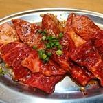 大阪焼肉・ホルモン ふたご - ロースと黒毛和牛カルビ