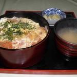 きくのや食堂 - 料理写真:かつ丼 850円