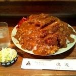11162385 - カツカレー(大盛り)(1200円)