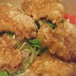 フジヤマ - 鶏天丼アップ