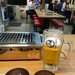 大阪焼肉・ホルモン ふたご - 二種類のタレが用意されています。