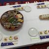 ハツネ - 料理写真:オードブルと塩むすび