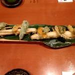 紀州うまいもん家 傳八 - 太刀魚の天ぷら