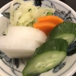 隅田川 - 漬物くん。