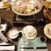 Shoujuen - 料理写真:夕餉スタート時のセッティング
