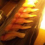 11163365 - 2011.12:真鯖と金目鯛の握り