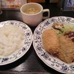 レストランQ - Aセット780円