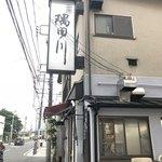 隅田川 - 外袖看板。