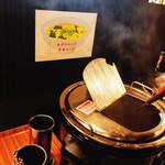 肉のはせ川 - スープバー  本日は 中華スープ