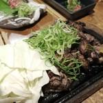 binchouyakitoritosakashoukai - 名古屋コーチンの籠焼き