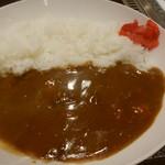 お好み焼・たこ焼 多幸膳 - 呉基地業務隊牛すじカレー(770円)