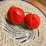 地鶏割烹 稲垣 - 徳島県産フルーツトマト