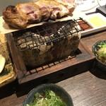 地鶏割烹 稲垣 - おろしポン酢で