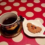 ミルク村 - 最後は、コーヒーとクッキーで!