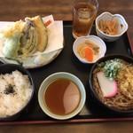 藤乃屋 - 料理写真:天ぷらランチ 850円