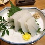 栄寿司 - 赤イカの刺身