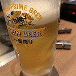 喃風  - 生ビールで乾杯