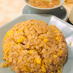 111647618 - チャーハン¥770  スープがこれまた濃厚