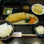 茶寮 浜ぐら - すきやきカツ(1260円)