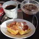 マンゴツリーカフェ+バー - ココナッツトースト&ドリンク
