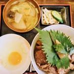 神戸牛丼 広重 - 並+卵