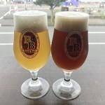 沼津フィッシュマーケットタップルーム - 季節のビールです。