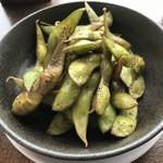 沼津フィッシュマーケットタップルーム - 枝豆です。