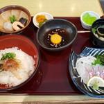 111654804 - ぶっかけ鯛めし膳(1550円)