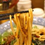 自家製麺 竜葵 - 台湾まぜそばの麺
