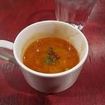 マリブ食堂 - マグロのサルピコ(野菜たっぷりスープ)
