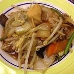上海亭 - 野菜炒め