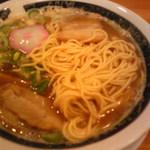 ばり馬 - 麺はデフォでも 硬目です。