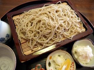 花月庵 れん月 - おろしそば(2012/01/13撮影)