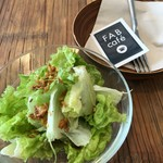 FABcafe - サラダ付き