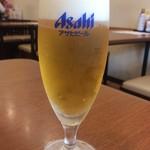 食事処 ときわ - 小生ビール(モーニングセット)
