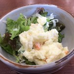 食事処 ときわ - ポテサラ(モーニングセット)