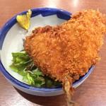 食事処 ときわ - ハート形に見えるアジフライ♡(モーニングセット)