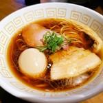111663617 - 味玉醤油らぁ麺