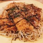 三國志 - 肉玉そばセミダブル 760円