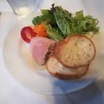 ラベイユ - 料理写真:鶏白レバーのパテ