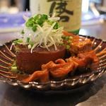 純米酒専門 YATA - 味噌おでん
