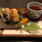 とさ屋 - 料理写真:おむすび Bセット 500円 (2019.7)