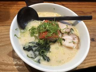 麺蔵 加納町本店 - 明太子ラーメン ¥980