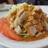 サンロッジ - 料理写真:ボリューム満点の棒々鶏は絶品でしたね