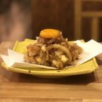 天ぷらスタンドKITSUNE - 海老と野菜野かきあげたれ