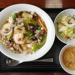 中国名菜 しらかわ - 中華飯セット@880