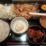 111681173 - 生姜焼き定食・680円(税抜!)