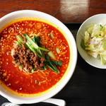 中国名菜 しらかわ - 担々麺セット@880